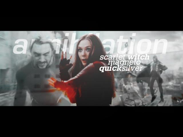 Scarlet witch x magneto x quicksilver annihilation