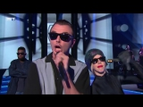 Tinie Tempah and Theo Hutchcraft Perform Men In Black - Bring The Noise
