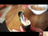 Суши гункан приготовление