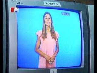 """Претендентки на титул """"Краса России - 2016"""" попробовали свои силы на телевидении."""
