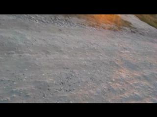 Спуск с горы в Анапе