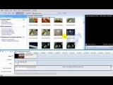 Видеоурок. Монтаж и создание видео в программе Windows Movie Maker (720p)