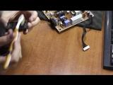 Гаснет подсветка. Монитор Samsung SyncMaster P2350N. Ремонт трансформатора и инвертора