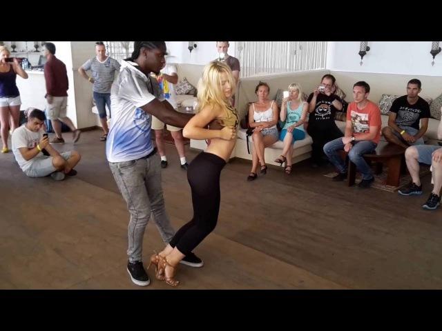 OIDF Odessa International Dance Festival 15-07-18 Enah Lebon Carolina Kizomba cool moves