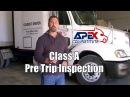 How to perform a Class A CDL Pre Trip inspection