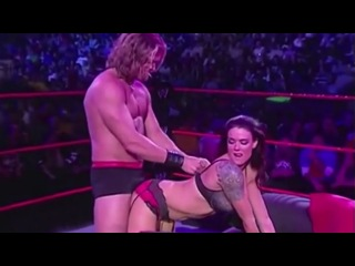 WWE: Edge and Lita In Bed In The Ring
