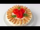 САЛАТ КРАБОВАЯ СЛОЙКА от VIKKAvideo-Простые рецепты