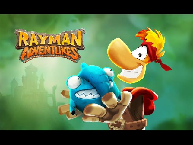 [Обновление] Rayman Adventures - Геймплей | Трейлер