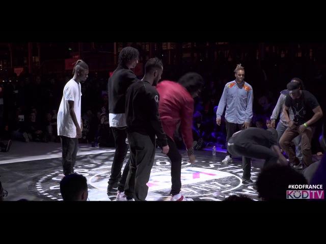 KOD France | DC Vortex vs Criminalz | Hip Hop Final | 2016KODWORLDCUP