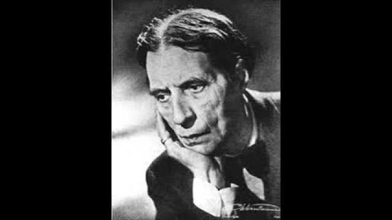 Alfred Cortot play Bach Organ Concerto No. 5 in D minor BWV 596 (after Vivaldi)