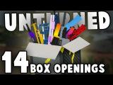 Unturned: 14 CHROME AND CARBON FIBER BOX OPENINGS (Gun Skin Crates)