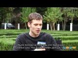 Joseph Morgan Talks Klaus Love Life, Future Baby & More on The Originals [Rus Sub]