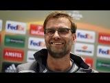 Liverpool vs. Augsburg - Jurgen Klopp pre-match press-conference