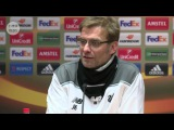 Jurgen Klopp post-match press-conference