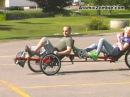 The Viking Recumbent Tandem Trike