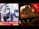 GTA 4 на Oculus Rift VR + Cyberith Virtualizer | ГТА 4 на Окулус Рифт VI Omni шлем очки маска обзор