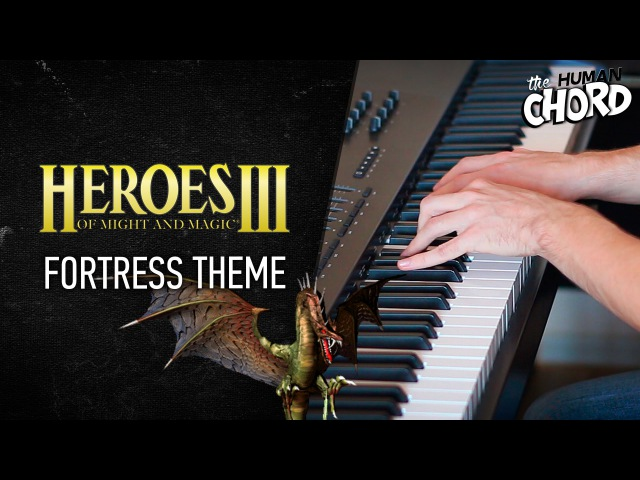 Heroes of Might and Magic III - Fortress Theme (Piano cover Sheet music)