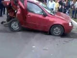 авария возле БГУ брянск дтп