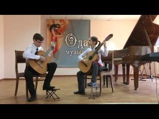 Сосниця (циганская народная песня), Сумерки (Райнер Фальк). Исполняет Бондаренко Олеся и Никита
