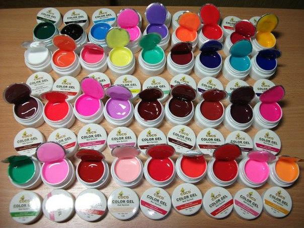 Краски для ногтей
