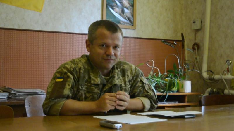 Про військовий резерв розповів журналістам Кравчук Олександр Віталійович