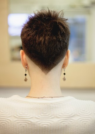 Фото из студии 'Fresh Hairs', расположенной на 2 этаже ЛОФТ ПРОЕКТ ЭТА