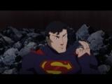 Фрагмент мультфильма «Лига справедливости против Юных Титанов».