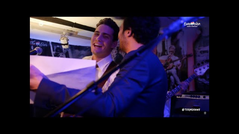 Amir and Douwe Bob - Une Belle Histoire | The Bar | ESC16