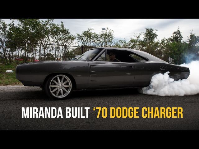 '70 Dodge Charger on e-Level   Miranda Built