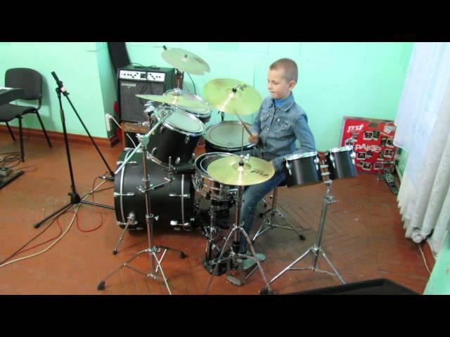 Rammstein - Waidmanns Heil - Drum Cover - Drummer Daniel Varfolomeyev 10 years