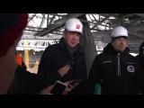 Строительство стадиона на Крестовском острове (Зенит Арена)
