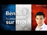 Benabar - Tu peux compter sur moi. Учим французский через музыку. Иван Бобров