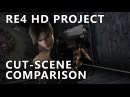 [Resident Evil 4 HD Project] Cut-Scene Comparison - Salazar Sends Leon into the Pit