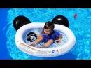 В БАССЕЙНЕ с РОБОРЫБКАМИ Игры Для Детей Swimming in Pool game for kids video unboxing toys