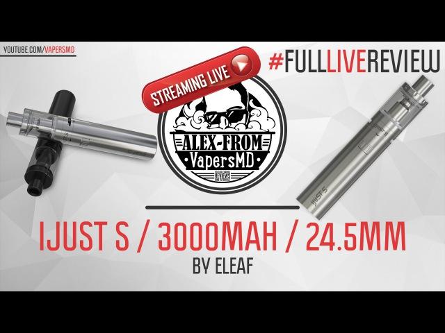 Лучший вейп для новичков! | iJust S / 3000 mAh / 24.5mm / 4ml | by Eleaf