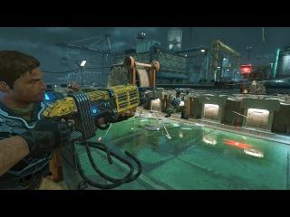 Gears of War 4 Multiplayer Beta: 'Harbor' Map Full Round 1080p/60fps