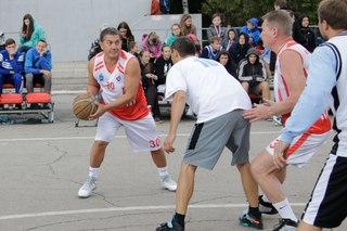 Шестой открытый турнир по стритболу в Жигулевске