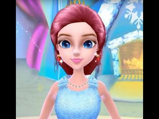 Принцесса Барби! Princess Barbie! Play online. Cartoon for kids.