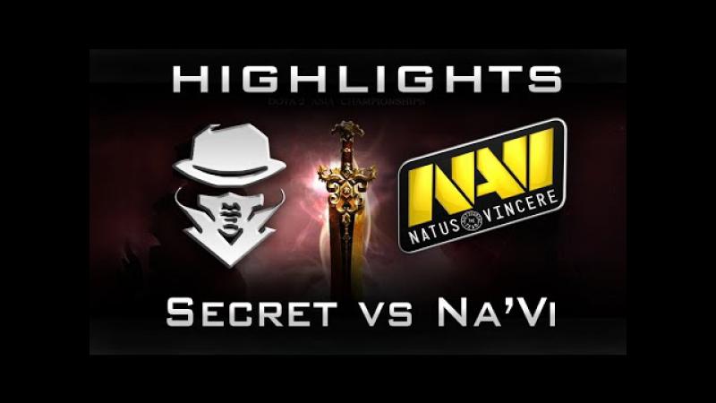 Na'Vi vs Secret Highlights DAC 2015 Group Stage Dota 2