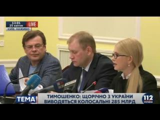 В офшоры выводятся суммы, превышающие не один годовой бюджет Украины