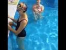 Грудничковое плавание в бассейне AquaStars Алматы
