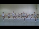 Vaganova Ballet Academy  Classical dance  Girls, 1st class  2012  1