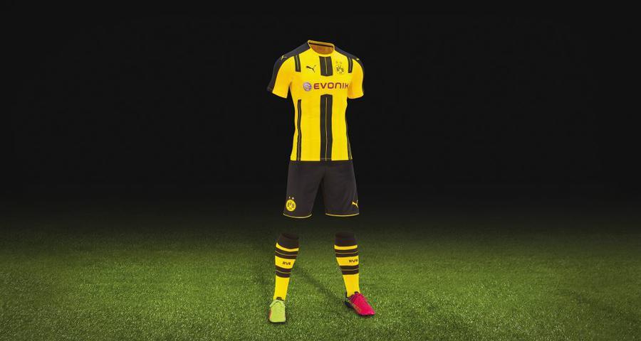 Боруссия Дортмунд представила новую форму