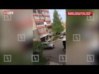Появилось видео задержания подозреваемого в убийстве байкеров