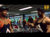 Sergi Constance Denis Gusev- Shoulder Workout - Серджи и Денис- Тренировка плеч