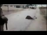 На следущем видео запечатлены кадры того как французские солдаты расстреливали мусульман в Алжире: