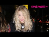 Courtney Love Attends A Private Party At The Nice Guy 1.23.16 - TheHollywoodFix.com