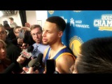 Stephen Curry postgame Warriors-Bulls: