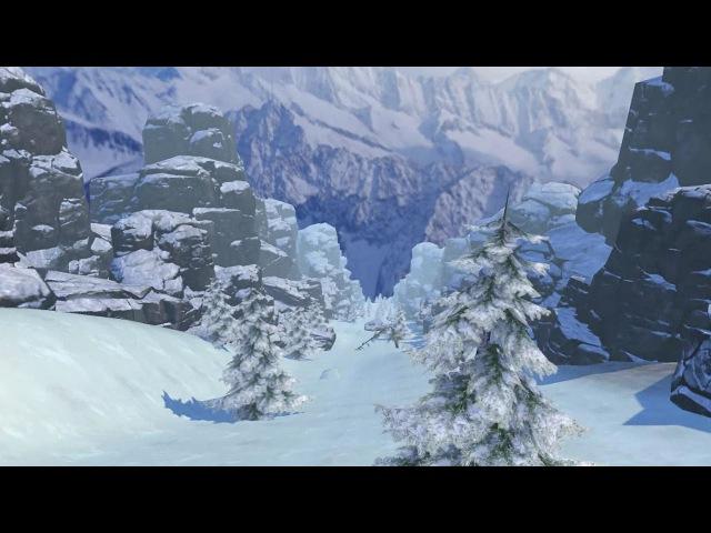 Fancy Skiing VR - Trailer [VR, HTC Vive]