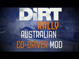 Dirt Rally Australian CO-Driver Mod